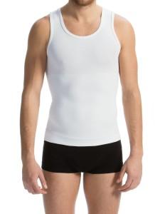 57c9f3d5ba6bef Męska koszulka wyszczuplająca i modelująca z chłodzącym włóknem BREEZE  FarmaCell - Art. 417B